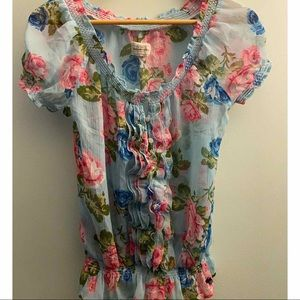 Abercrombie & Fitch Floral Blouse